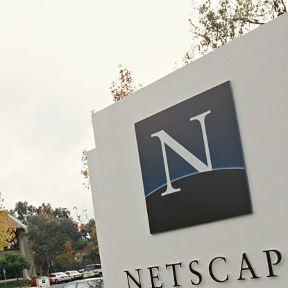 USA - Netscape Headquarters (Photo by James Leynse/Corbis via Getty Images)